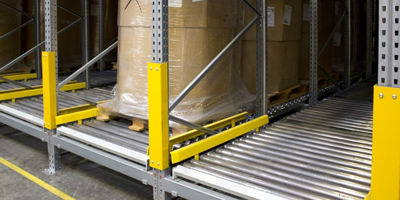 Doorrolstellingen voor pallets